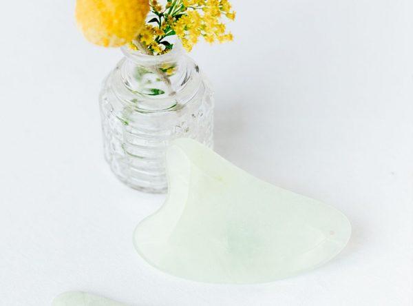 high quality jade gua sha for at home facials - best jade gua sha tools australia