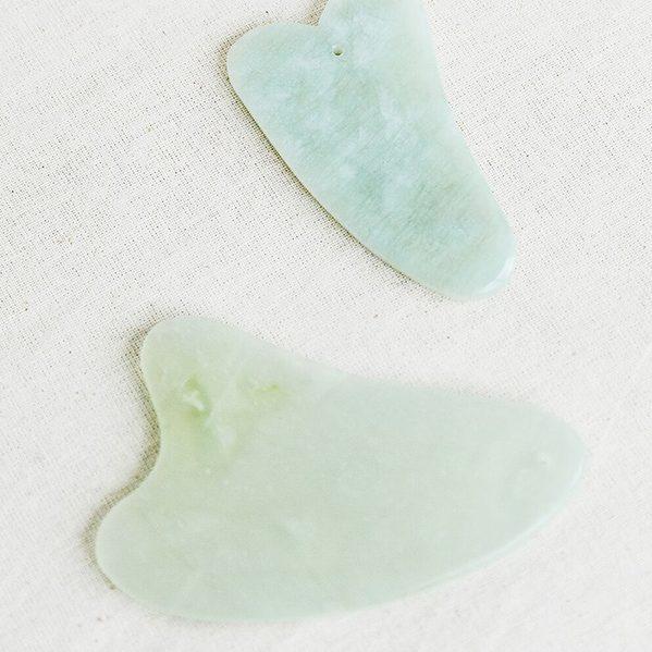 cosmetic acupuncture and facial gua sha melbourne - jade gua sha