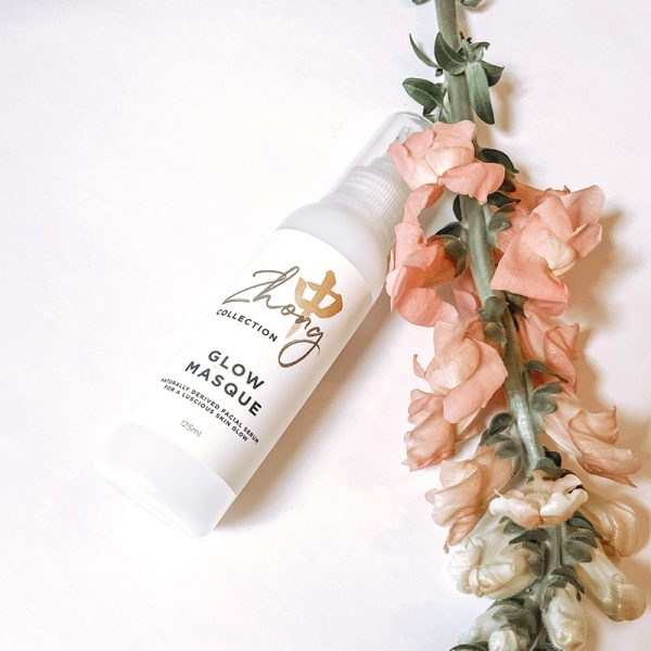 glow masque australian made herbal face mask for glowing skin - melbourne facial experts zhong centre