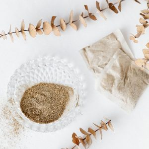 herbal foot soak tea bags - remove dead skin from feet and detoxify - epsom salt foot bath