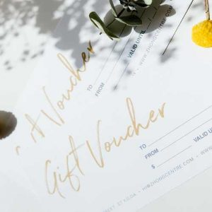 cosmetic acupuncture gift voucher melbourne - zhong centre